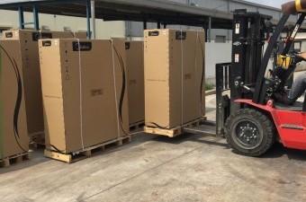 Thi công tủ đứng ở khung công nghiệp Đình Trám tại Bắc Giang