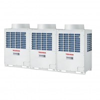 Dàn nóng điều hòa trung tâm Toshiba Heat Pump Inverter AP3626HT 36HP 2 chiều (Dàn ghép)